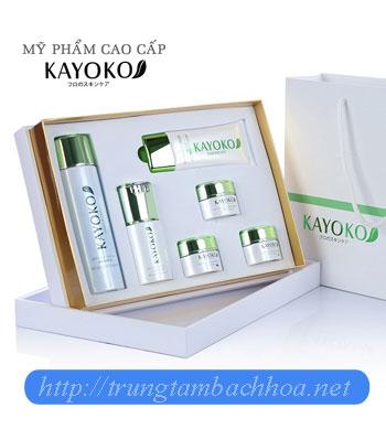Bộ mỹ phẩm Kayoko 6 sản phẩm nhật bản
