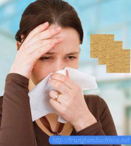 Miếng dán điều trị viêm xoang hiệu quả