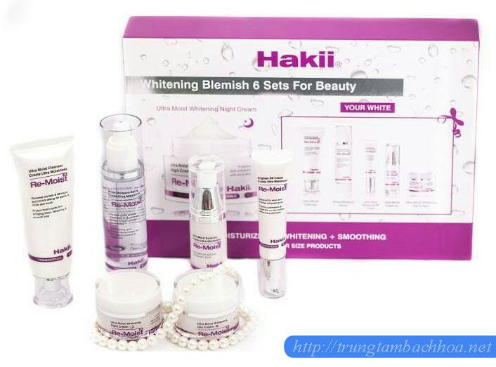 Bộ mỹ phẩm Hakii 6 in 1