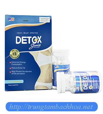 Sản phẩm detox slimming capsumes