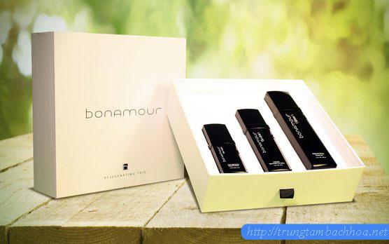 Bộ 3 sản phẩm Bonamour akte vat xịt dưỡng da