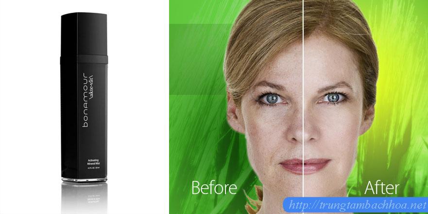Bonamour trước và sau khi dùng