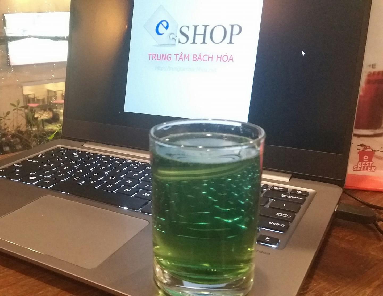 Ly nước diệp lục chlorophyll mát lạnh