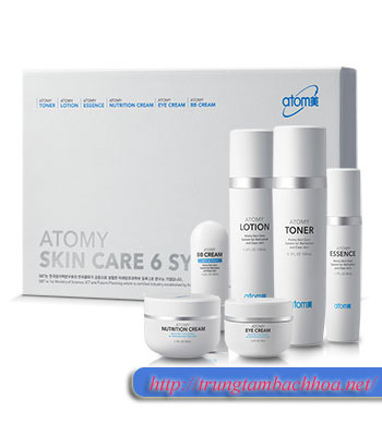 Bộ Skin Care 6 System Atomy