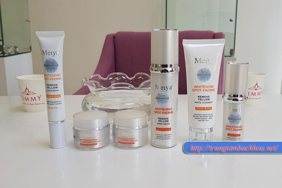 Bộ Meiya 6 in 1 giúp điều trị nám da