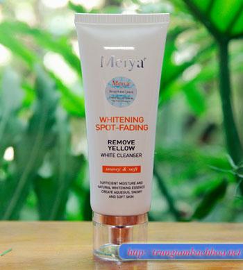 Sữa rửa mặt trị nám Meiya, bộ mẫu thứ 3 mới