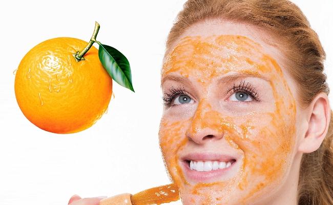 Trị nám da với vỏ cam