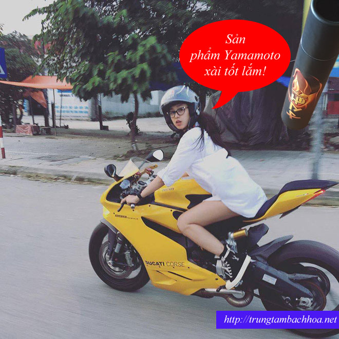 Sản phẩm Yamamoto sử dụng cho xe moto rất tốt nhé mọi người