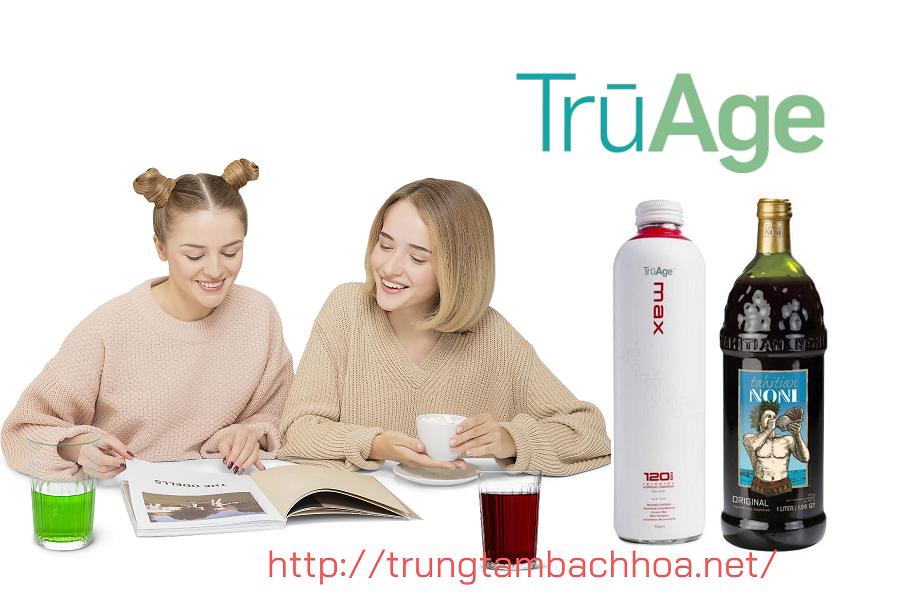 Bộ đôi sản phẩm chống lão hóa của công ty Noni