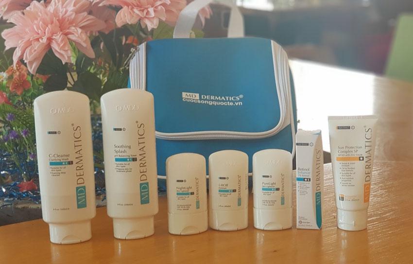 Bộ 7 sản phẩm đặc trị nám md dermatics