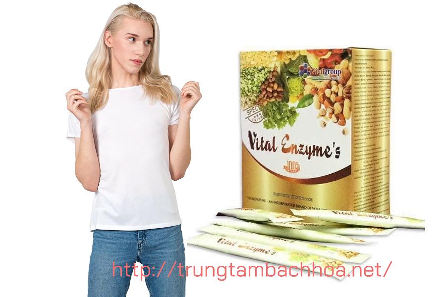 Khỏe và đẹp với Vital Enzymes