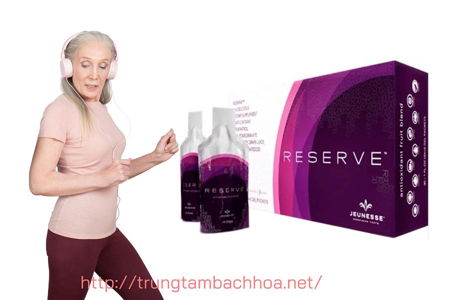 Sản phẩm reserve của Jeunesse giúp bạn bảo vệ sức khỏe